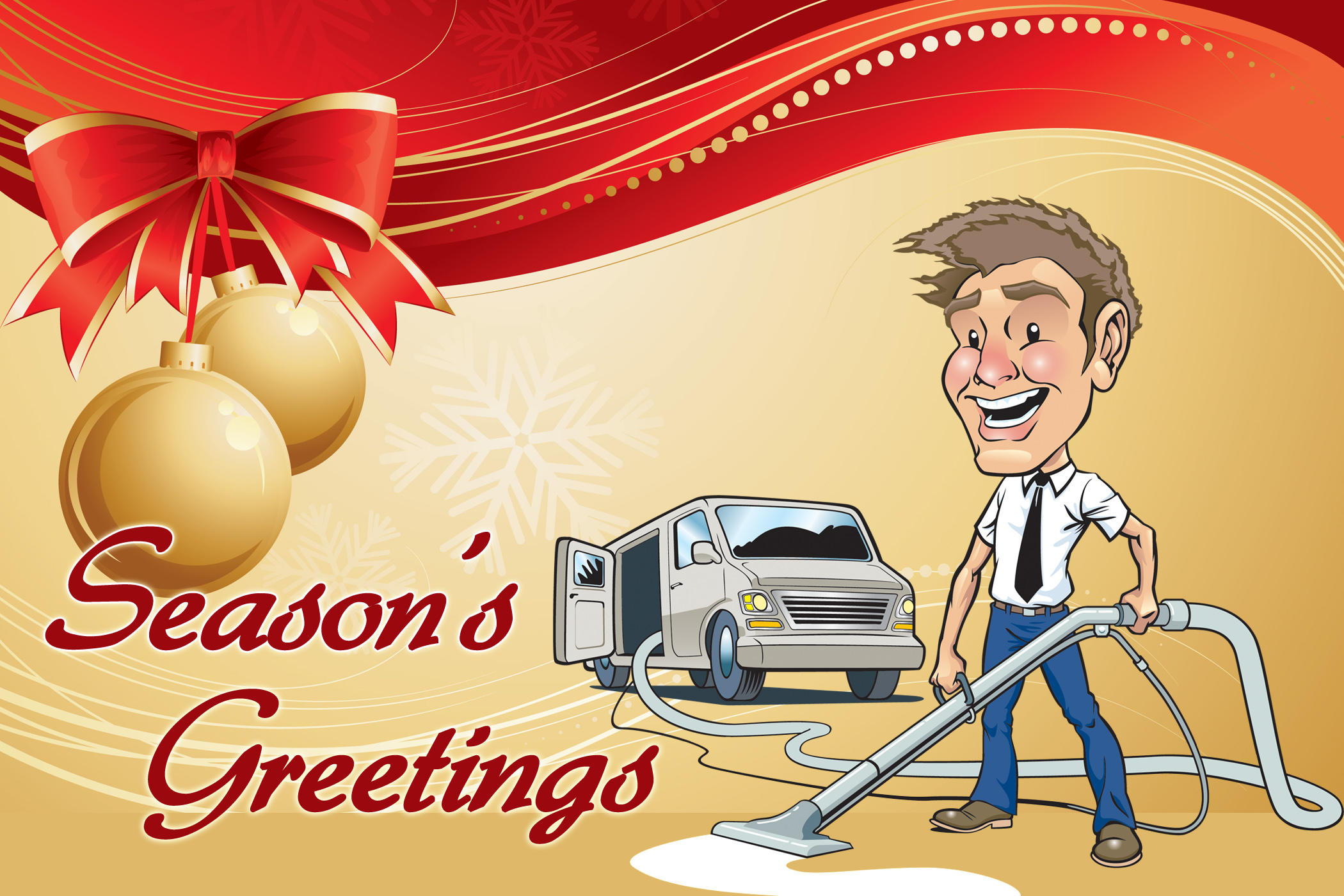 Christmas Carpet Cleaning.Servicemonster S 2011 Holiday Christmas Cards Carpet