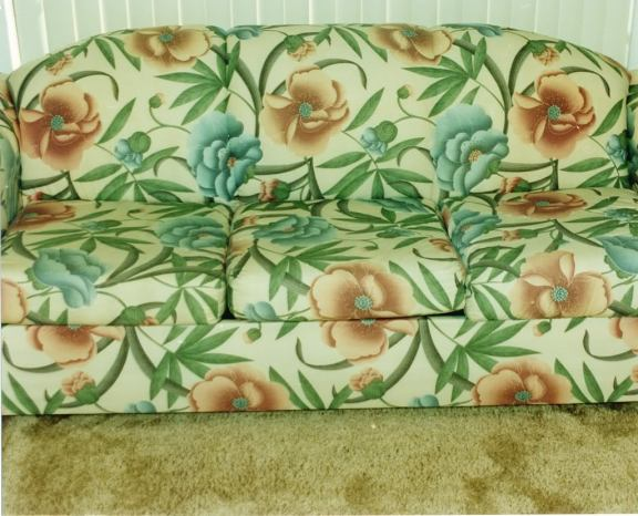 Upholstery after carpet surgeons