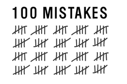 100 Mistakes